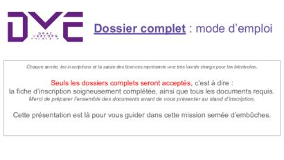 TUTO dossier complet